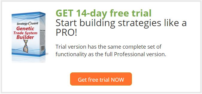 StrategyQuant Free Trial
